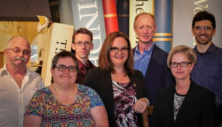 Orangeville library board members