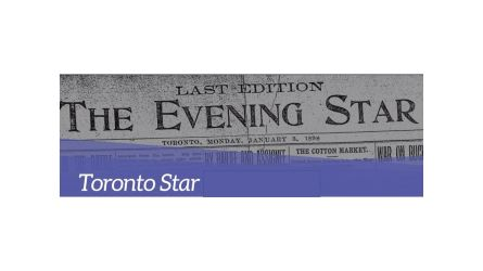 Proquest Historical Newspapers: Toronto Star banner